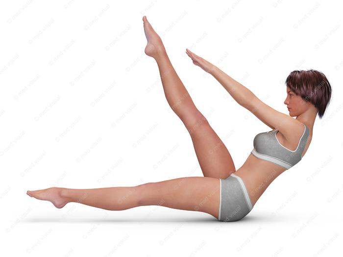 Bauch, Beine, Po: BOP-Training für Frauen – Übung-Position